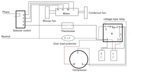 Ac Capacitor Wiring Diagram | Fuse Box And Wiring Diagram