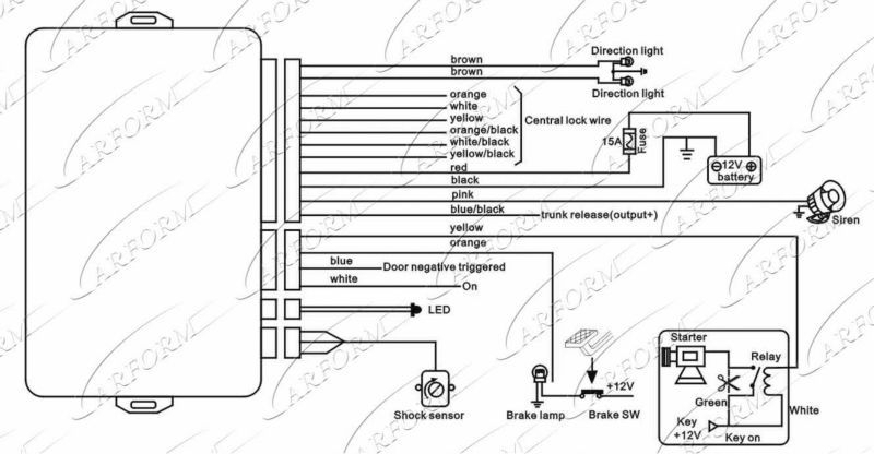 Bulldog Security Wiring Diagram Model Sr79 : 42 Wiring