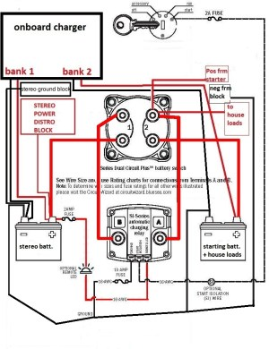 Blue Sea Add A Battery Wiring Diagram | Fuse Box And