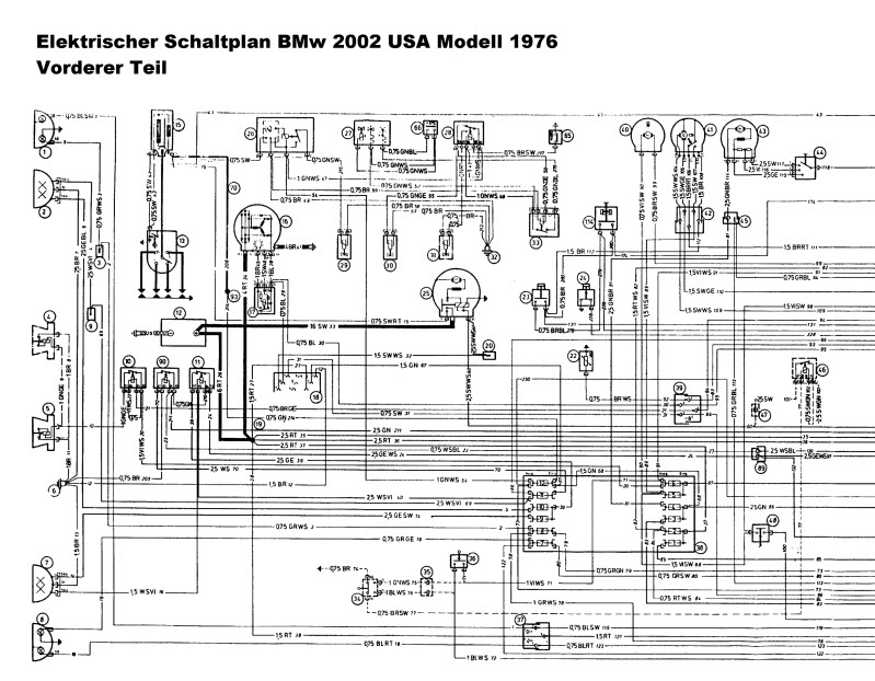 Wiring Diagram For 71 2002 Bmw Wiring Diagram For 2002 Cabrio ...