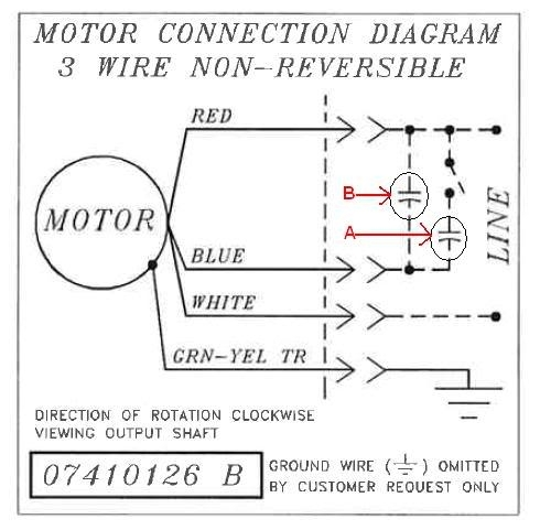 bodine electric motor wiring doityourself community forums for motor wiring diagram?resize\=490%2C481\&ssl\=1 bodine gear motor wiring 4 wire ac motor wiring diagram \u2022 wiring bodine dc gear motor wiring diagram at edmiracle.co