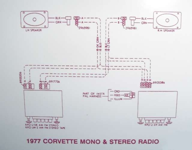 Radio Wiring Diagram On 1995 Corvette Automotive