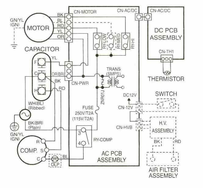 Heil Ac Wiring Diagram Heat Pump Control Wiring Diagram – Intertherm Wiring Diagrams