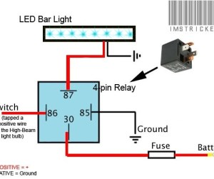 Cool Wiring Led Light Bar With Wiring Harness Diagram For