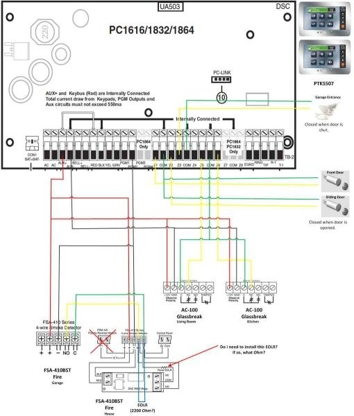 dsc 1832 wiring diagram the best wiring diagram 2017 dsc programming software at Dsc 1832 Wiring Diagram
