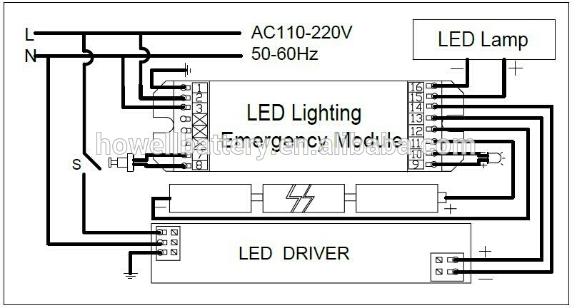 Emergency Led Driver Wiring Diagram : 35 Wiring Diagram