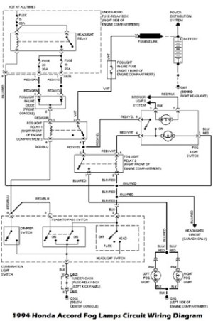 2001 Honda Accord Headlight Wiring Diagram | Fuse Box And
