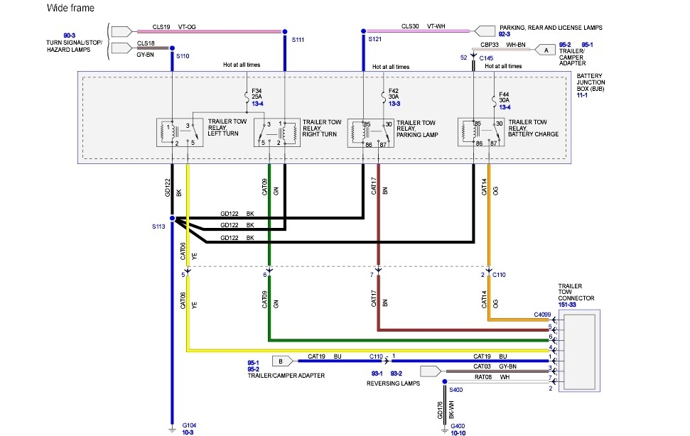 E350 Running Lights Wiring Diagram - Free Download Wiring Diagram