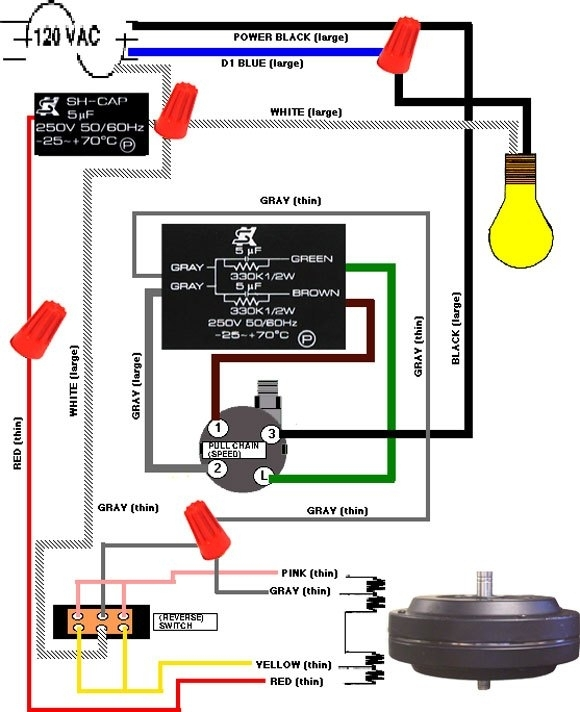 3 Sd Ceiling Fan With Remote Wiring Diagram. Ceiling Fans With ...
