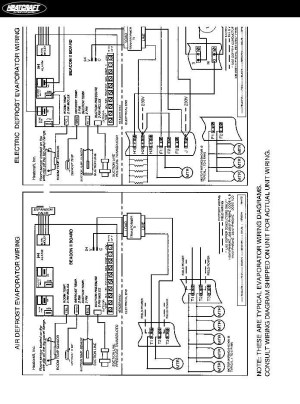 Heatcraft Freezer Wiring Diagram | Fuse Box And Wiring Diagram