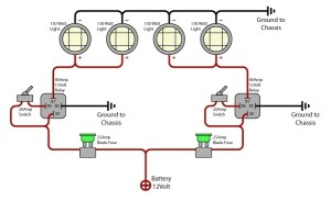 Fog Light Wiring Diagram | Fuse Box And Wiring Diagram