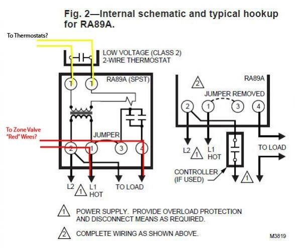 How To Wire A Honeywell V8043e Zone Valve Youtube Wiring Diagram ...