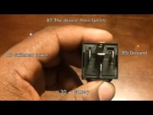 How To Wire A 3040 Amp Relay  Youtube throughout 12V 30 Amp Relay Wiring Diagram | Fuse Box