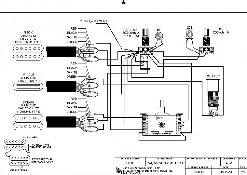 Ibanez Rg 2550 Wiring Diagram. . Wiring Diagram on