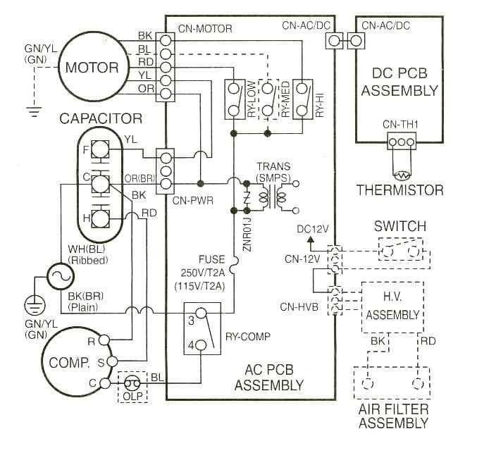 sophisticated Trane Air Conditioning Wiring Diagram Pictures ...