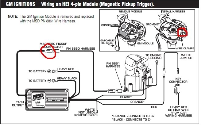 msd ignition 6al wiring diagram installing to points or amplifier with msd 6al wiring diagram mallory magic breakerless distributor wiring diagram diagram scorcher distributor wiring diagram at bayanpartner.co