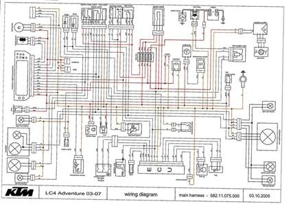 ktm 690 duke wiring diagram schema wiring diagram