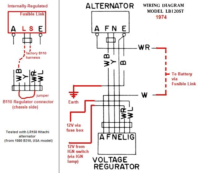 tech wiki ir alternator conversion wiring datsun 1200 club with external regulator alternator wiring diagram?resize\=640%2C560\&ssl\=1 1967 vw wiring diagram with alternator on 1967 download wirning VW Beetle Voltage Regulator Wiring Diagram at reclaimingppi.co
