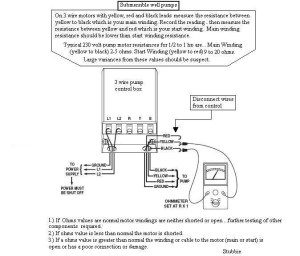 3 Wire Well Pump Wiring Diagram | Fuse Box And Wiring Diagram