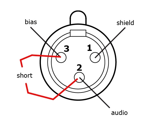 3 Wire Microphone Wiring