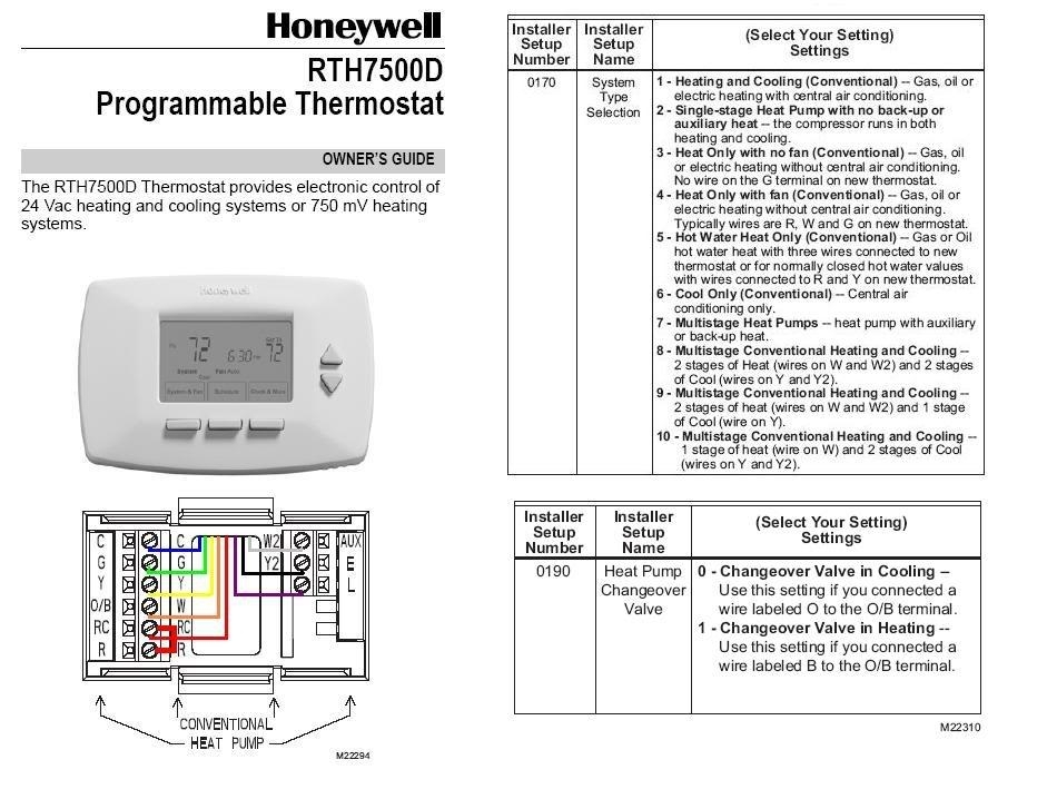 Lux Thermostat Tx9600tsa Wiring Diagram For Heat Pump : 53 ... on