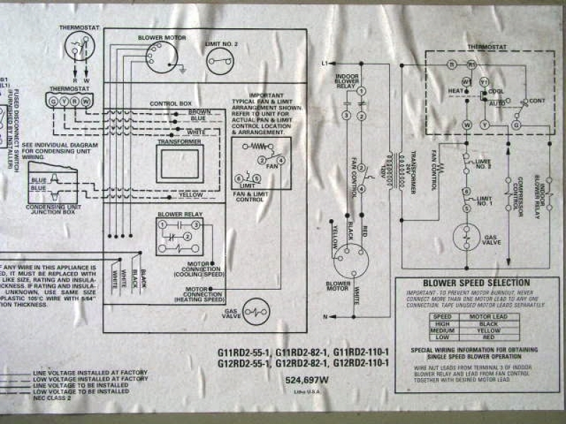 Nice Old Lennox Thermostat Wiring Diagram Photos - Electrical and ...