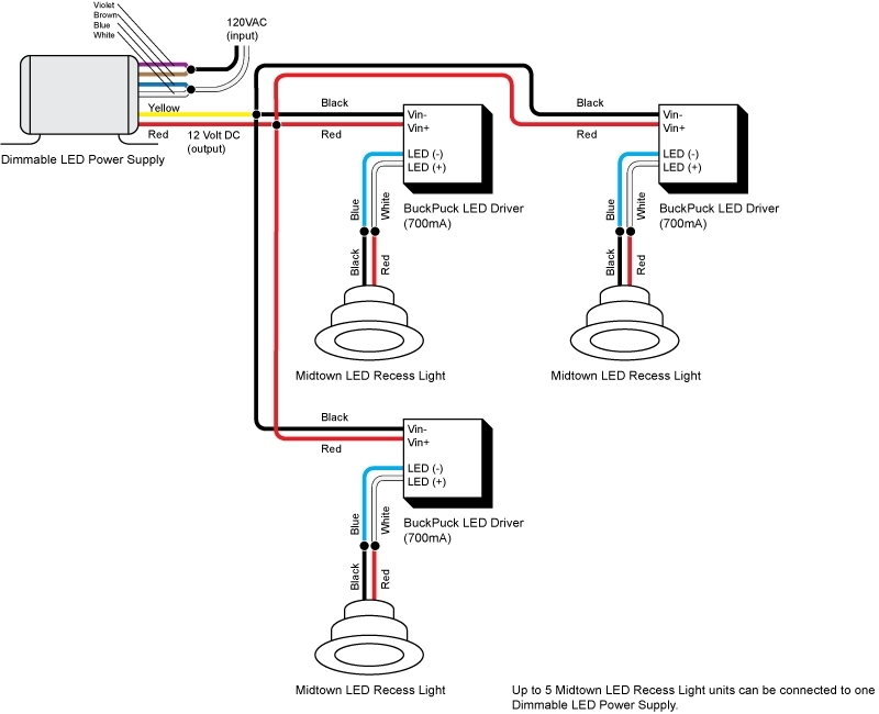 wiring downlights diagram