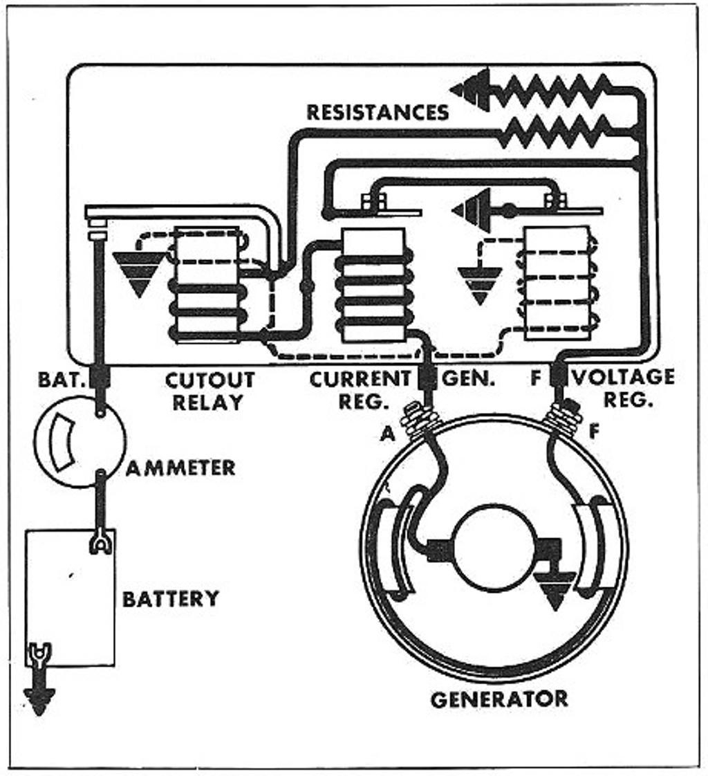 Generator Voltage Regulator Schematic