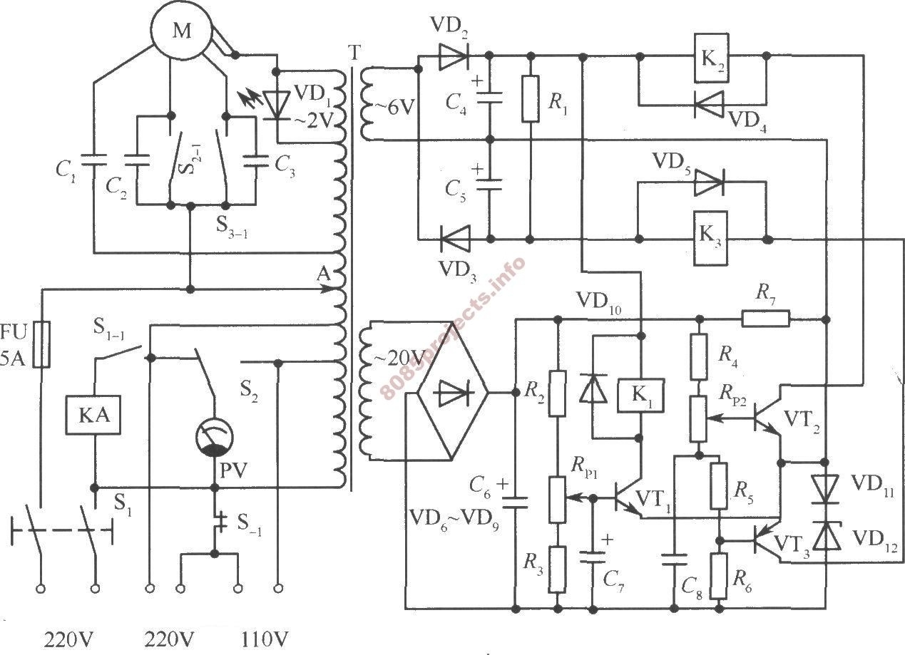 Ac Voltage Regulator Electrical Wiring Diagrams