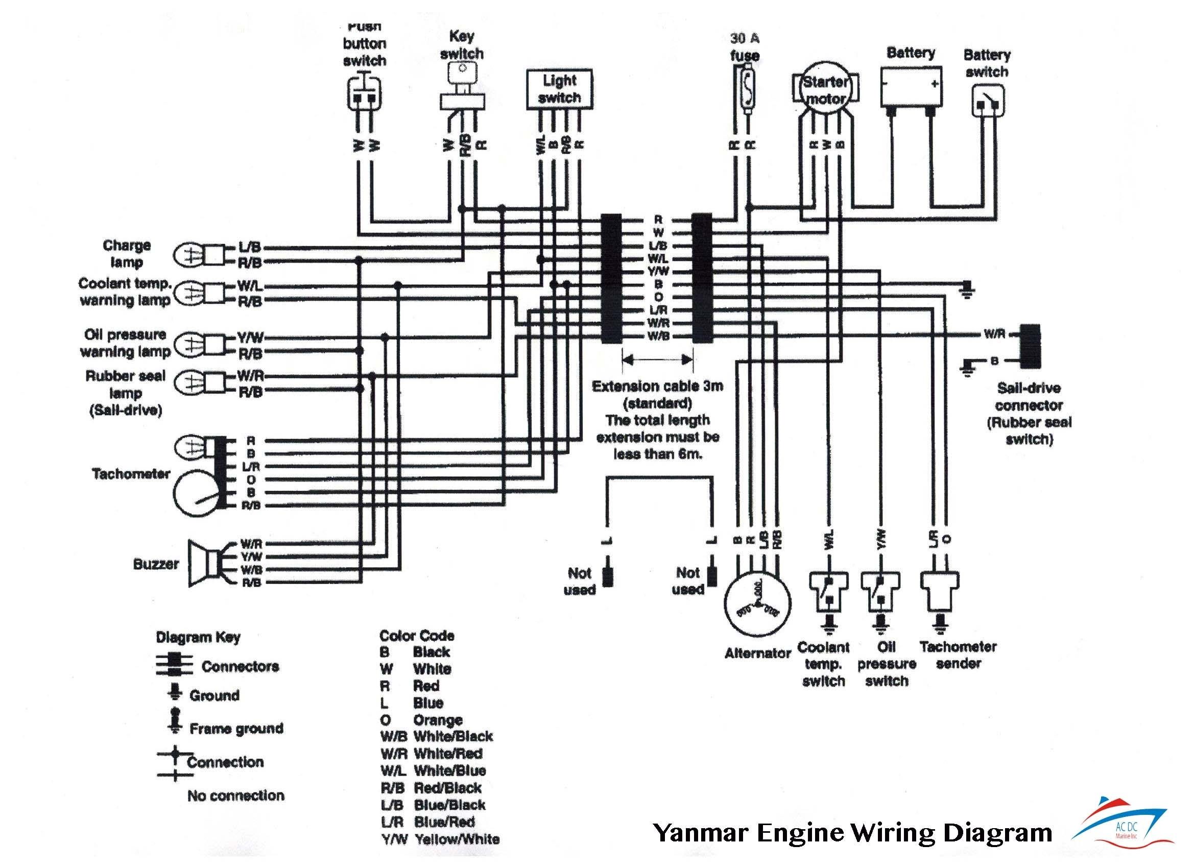 Yanmar Generator Wiring Diagram Good 1st Power Commander V Todays Rh 7 15 1813weddingbarn Com Alternator