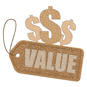 All value, always value