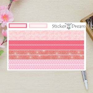 Sticker Dream - Whasi Strip Festa Rosa