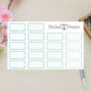 Sticker Dream - Kit Half Box Verde Claro