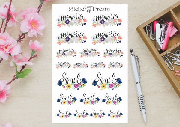 Sticker Dream - Kit Momentos