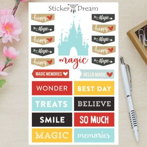 Sticker Dream - Cartela Magic