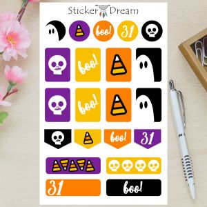 Sticker Dream - Cartela Boo