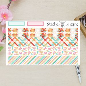 Sticker Dream - Washi Strip Happy Birthday