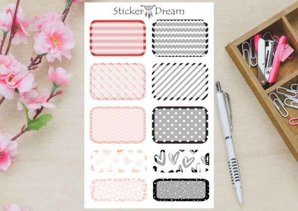 Sticker Dream - Kit Deco Planner Be Different