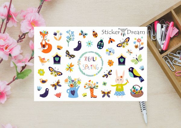 Sticker Dream - Super Chegou a Primavera
