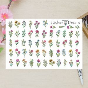 Sticker Dream - Cartela Super Flores do Campo