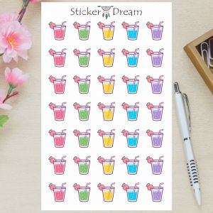 Sticker Dream - Cartela Suco para Refrescar
