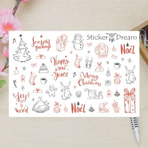 Sticker Dream - Cartela Super Joy to the World