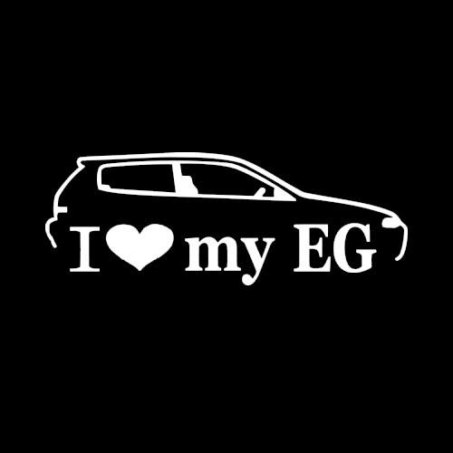 Стикер I Love my EG 3
