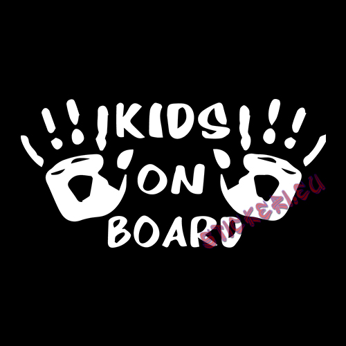 Стикер kids on board 2 - 2 - Stickeri.eu