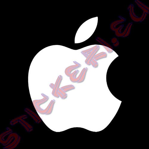 Стикер за Apple лого