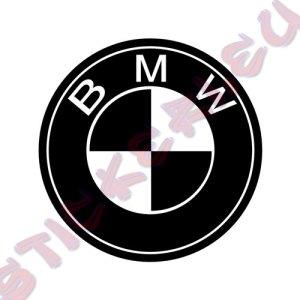 Стикер за кола емблема BMW