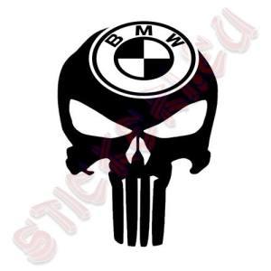 Стикер Punisher BMW