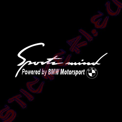 Sports Mind BMW Motorsport Black