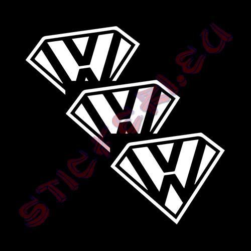 Стикери супер Volkswagen 2
