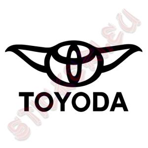 Стикер за кола TOYODA